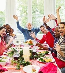 이웃과 함께하는<br>행복한 우리 마을
