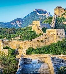 웅장한 자연을 느낄<br>수 있는 중국으로 GO