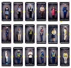 일본의 유니폼을 자신만의 방법으로 표현한 Frank Le Petit