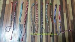 미산가 매듭팔찌(Friendship bracelet)