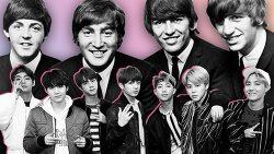 BTS 와 비틀즈.