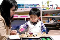 [베이비몬테소리 홈스쿨] 한국몬테소리 영유아 통합발달 프로그램, 0~3세 신체발달, 감각발달, 일상생활, 창의력 발달 교구활동