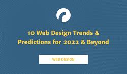 [인포그래픽스] 2022년 웹 디자인 트렌드 및 예측 10가지