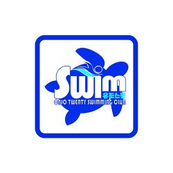 수영 동호회 로고 디자인 - 온조스물- #2