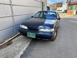 1992 대우자동차 프린스 (DAEWOO PRINCE)