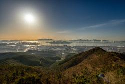 전남 일출 명소 광양 가볼만한곳 구봉산 전망대