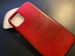 Apple 제품 청소법? iPhone 가죽 케이스를 물로 청소?.?