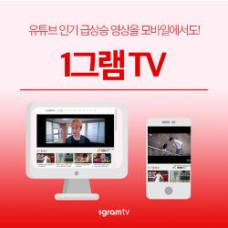 1그램 TV 웹,모바일에서 즐기는 방법