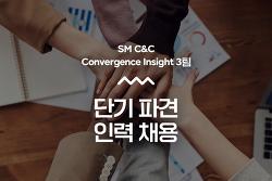 SM C&C Convergence Insight 3팀 단기파견직 채용 (~6/30)