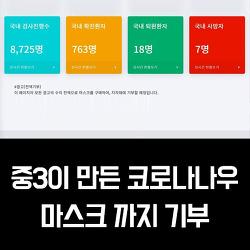 대구 중3이 만든 '코로나나우' 광고 수익으로 마스크까지 기부