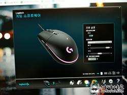 저렴한 유선 게이밍 마우스 로지텍 G102