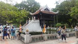 베트남 하노이 여행 - 못꼿 사원 ( 한기둥 사원)