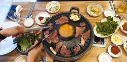 강남 맛집 - 소고기, 돼지고기 정육식당(흥부이가정육식당)