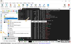 SSH 지원 터미널 프로그램 추천 모바엑스텀