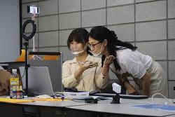 [서리풀 봉사학습 실천학교] 신동중 학생들과 온라인으로 진행한 첫 회의 현장