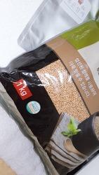대용량 식품 소분/밀봉 저장하기