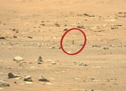 '아찔한 순간' 잘 넘긴 화성 헬리콥터 6번째 비행