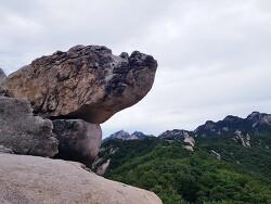 [토요산행] 북한산 비봉능선 210925