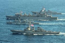 미·영 함정, 냉전 후 처음으로 러 해군 앞마당 바렌츠해서 작전