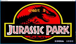 세가 쥬라기공원 게임 -  Sega Jurassic Park 1993 rom