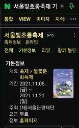 2021 서울 빛초롱 축제 /서울 여행 하실 분들께 작은 팁.