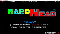 돌머리 하드헤드 - 짱구박사1(Hard Head1) 고전게임(펭하우스)