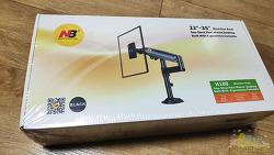 모니터 암 NB H100 구매, 28인치 모니터 받침대로 사용