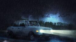 포토샵 합성 강좌 비 내린 날 (Photoshop Manipulation Tutorial Rainy Day)