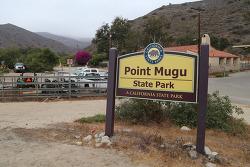 포인트무구(Point Mugu) 주립공원의 시카모어캐년(Sycamore Canyon)과 라호야캐년(La Jolla Canyon)