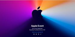 새로운 맥북을 위한 애플 이벤트