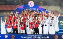 [20/21 AGL 26R] 셰이크 만수르 구단주에겐 최고의 이드 선물, 맨시티의 프리미어리그 우승 확정 한시간 뒤 알자지라도 UAE 리그에서 3시즌 만에 우승!