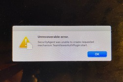 macOS Catalina에서  TeamViewer삭제 후 Unrecoverable error로 부팅이 불가능할 때 해결법