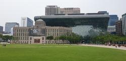 코로나로 집회없는 평안한 주말의 서울시청 나들이