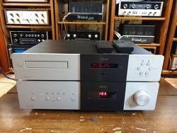 Classe 클라쎄 오디오 사의 CDP-3 시디플레이어와 와 CAP-151 인티엠프 조합입니다. -리모컨포함 A급-
