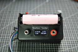 리튬이온 18650  배터리 전용 아두이노 내부저항 측정기에 방전기, 용량(Capacity) 테스트 기능 추가중..