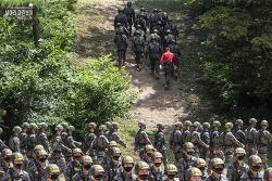 신병 1270기 3교육대 극기주 - 산악돌격훈련