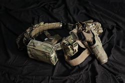 [Tactical belt] 1st Line Belt setup.