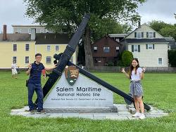 보스턴 인근 '마녀의 도시'로 유명한 세일럼과 해양 국가유적지(Salem Maritime National Historic Site)