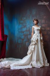 웨딩드레스가 잘 어울리는 모델 유시안 (유하나)