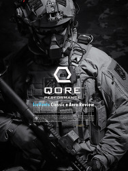 [Qore Performance] IceVents Classic & Aero Shoulder Pad & Aero Universal Holster Pad Review.(Kor)