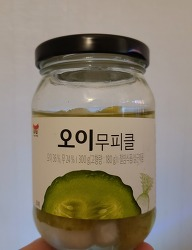 일가집 오이무피클 300g (feat. 이것 봐 이 블로그 한 번 쳐다 봐♡)