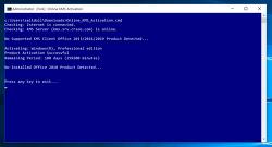 [Windows 10] 윈도우 10 정품 인증하는 방법 (cmd 창을 이용한 방법) + Office의 Activating에서 정지되는 현상 해결법
