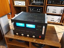 맥킨토시 베스트셀러 MC2500 파워엠프 입니다 -A급 220V 오리지널TR-