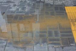 [20210517]비 오니 빗물 웅덩이로 출입 불편한 김중업박물관
