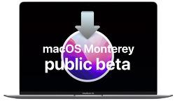 macOS Monterey Public Beta 설치하기