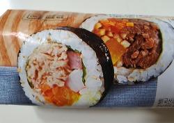 CU편의점, 2in1 반반 참치불고기 김밥과 신라면 큰사발면 환상조합
