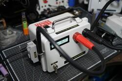 [의뢰품] 0.3t  스폿가능한 AC 1.5KVA 스폿용접기 제작스케치 및 테스트!!