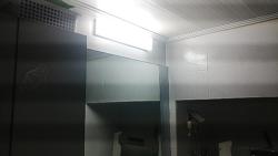 욕실 전등(조명)이 어두워서 직접 LED등으로 DIY로 해 봤어요 (스압주의)