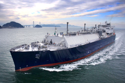삼성중공업, 올해 첫 수주 시동... LNG운반선 1척·1,993억원