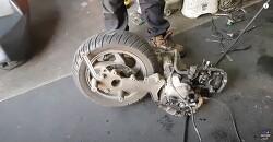 보이져 125cc 엔진 탈 부착 빠르게 보기 View the engine removal and installation process at 5x speed - sym Voyager 125cc